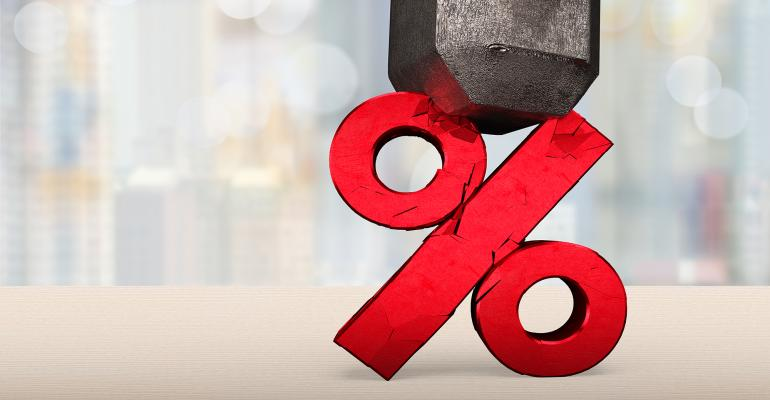 cracked percentage sign