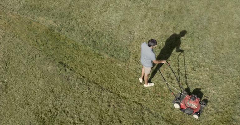dad lawnmower