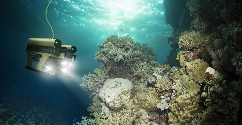 deep sea underwater robot