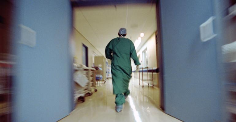doctor scrubs hospital