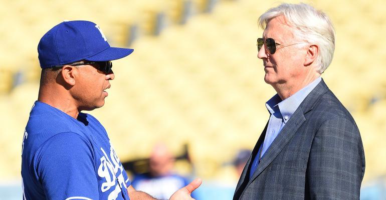 Mark Walters Dave Roberts Dodgers Guggenheim