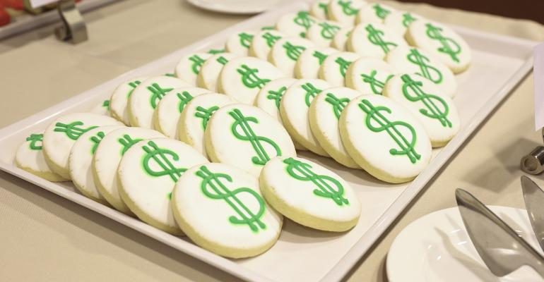 dollar sign cookies
