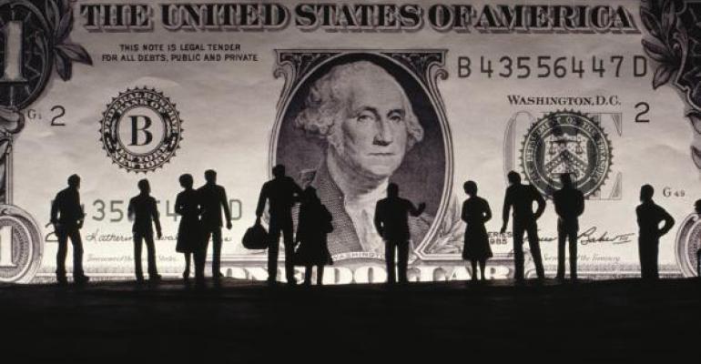 money silhouette