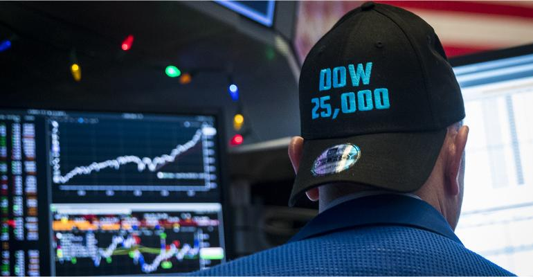Dow 25,000 hat
