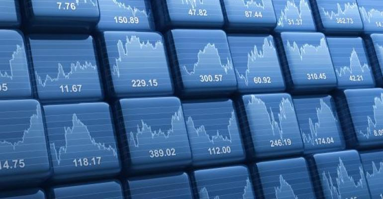 ETFs stock prices squares
