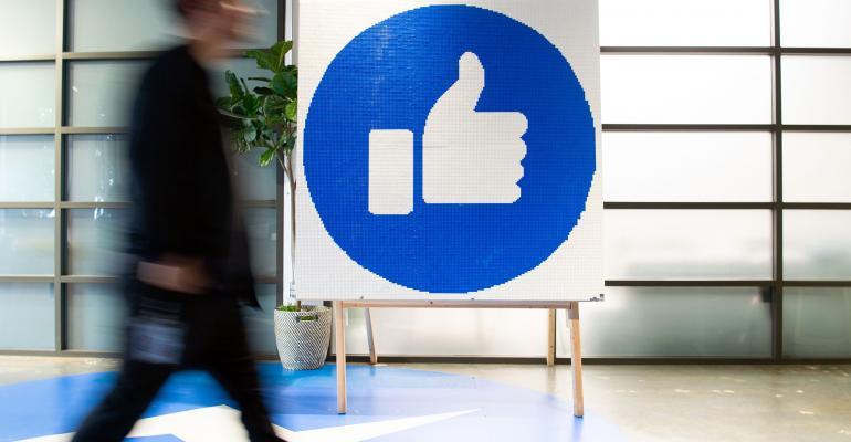facebook office sign