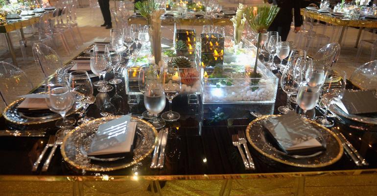 fancy table art party