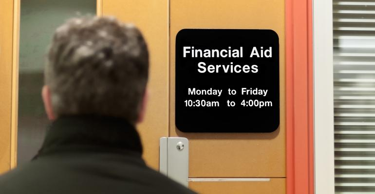 financial aid office