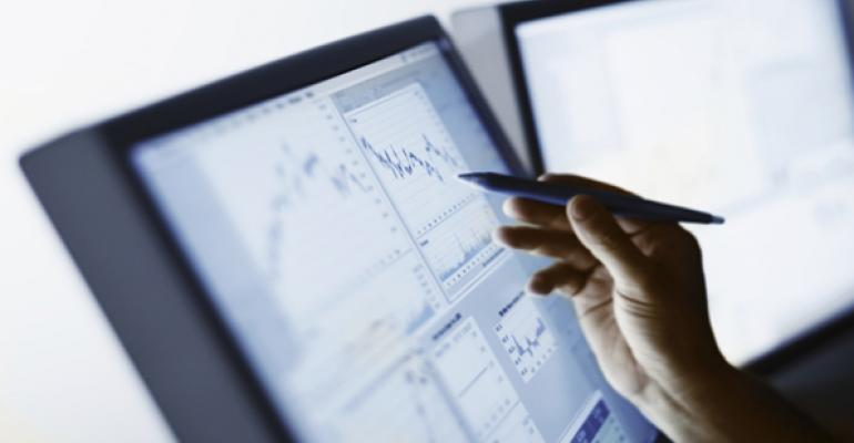 financial data computer