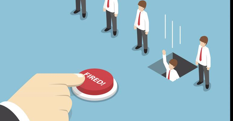 fired button