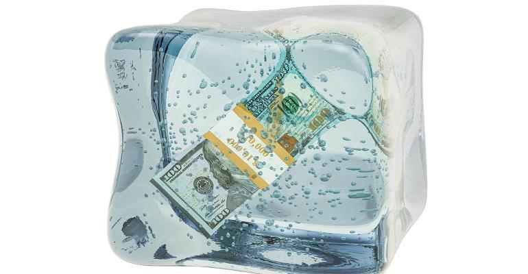 frozen economy