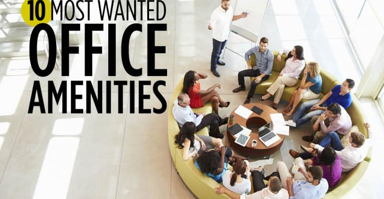 10 Most Wanted Office Amenities