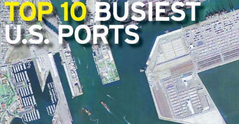 Top 10 Busiest U.S. Ports