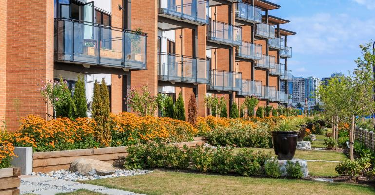 garden-style apartments