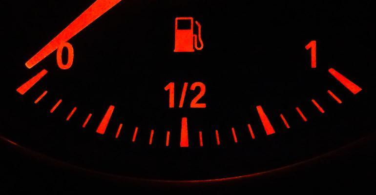 gas gauge car