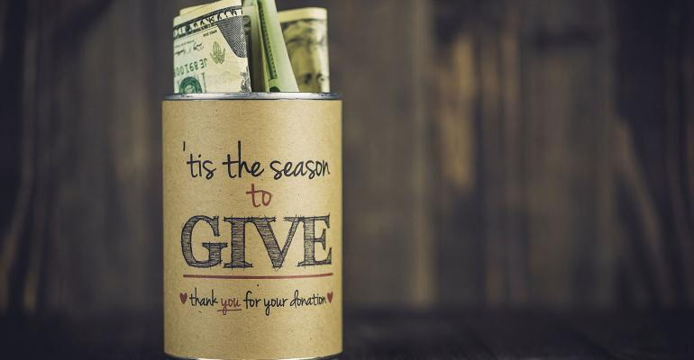 giving jar