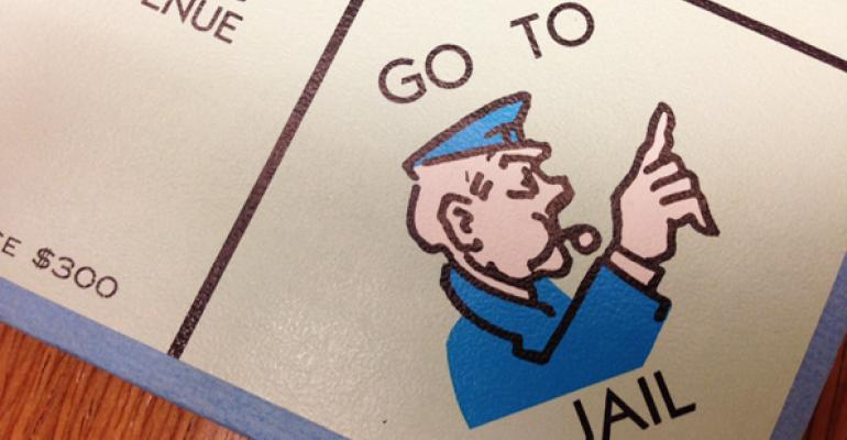 go to jail monopoly