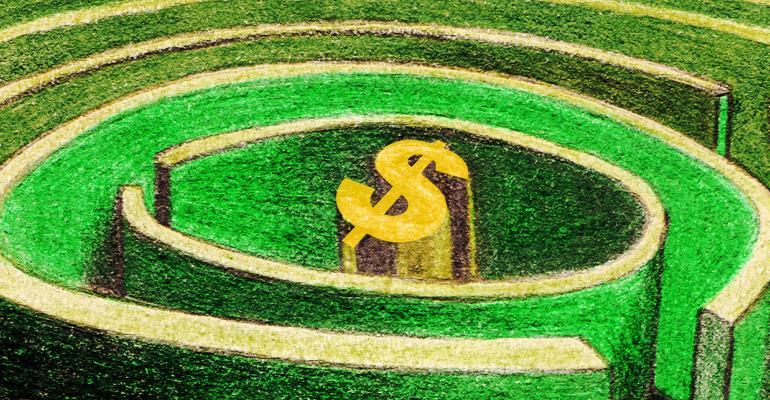 green money maze