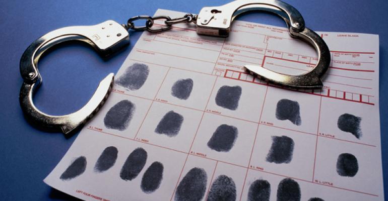 handcuffs finger prints