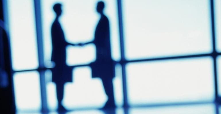 handshake silhouette