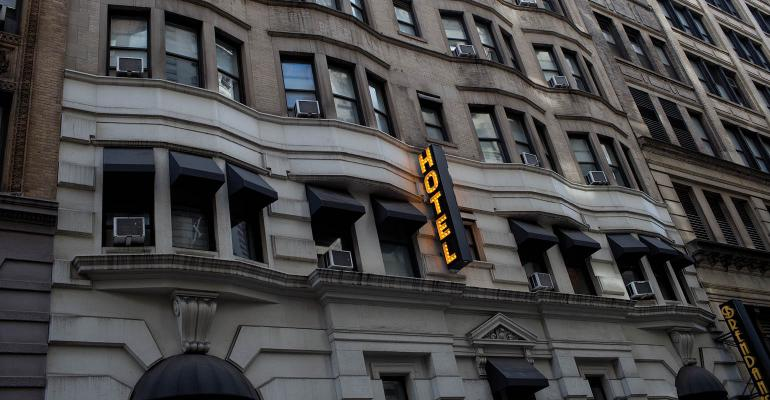 hotel ext-NYC