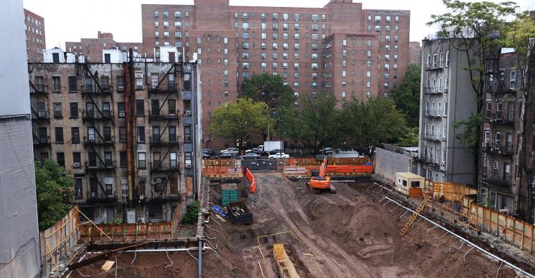 east village NY construction