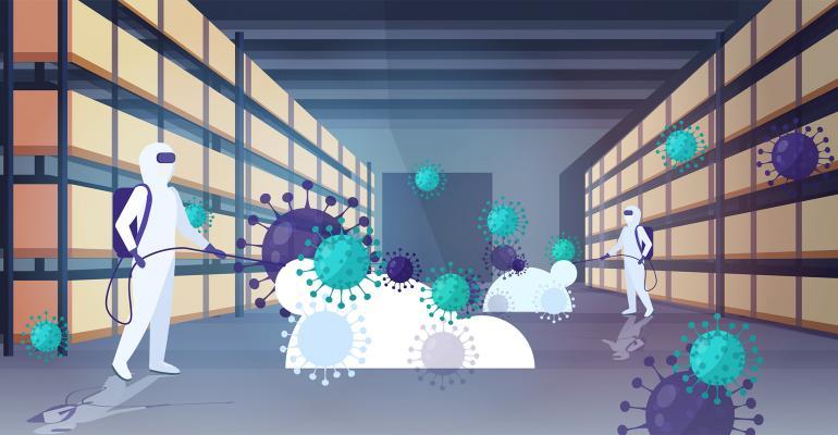 warehouse coronavirus