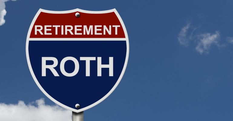 Roth IRA sign