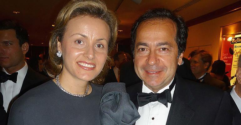 Jenny and John Paulson in 2009