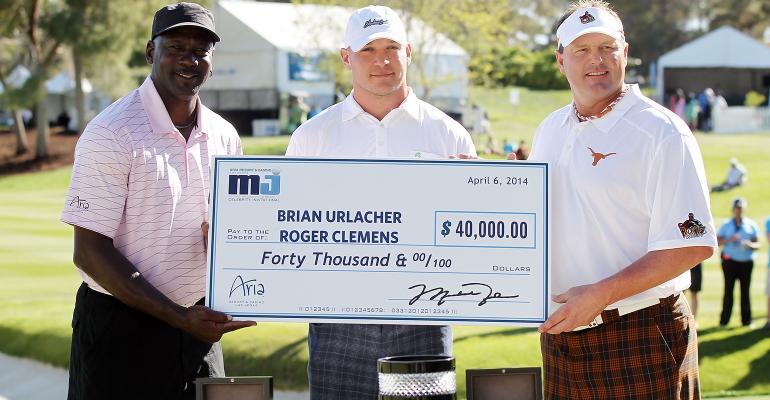 Brian Urlacher, Michael Jordan, Roger Clemens