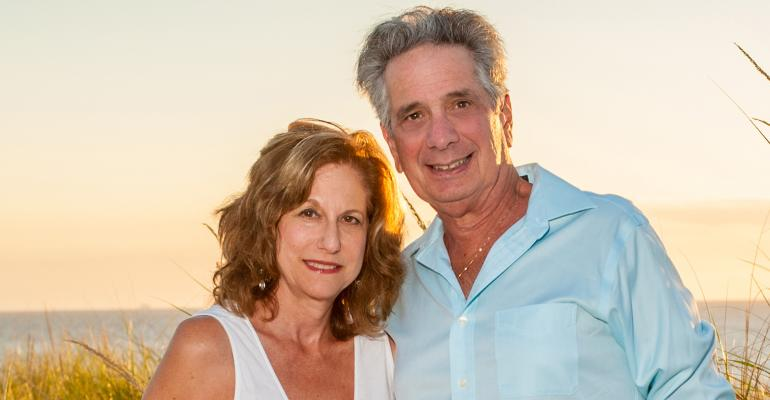 Larry Marion and wife Leslie