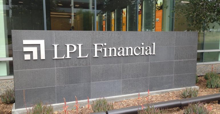 LPL Financial sign