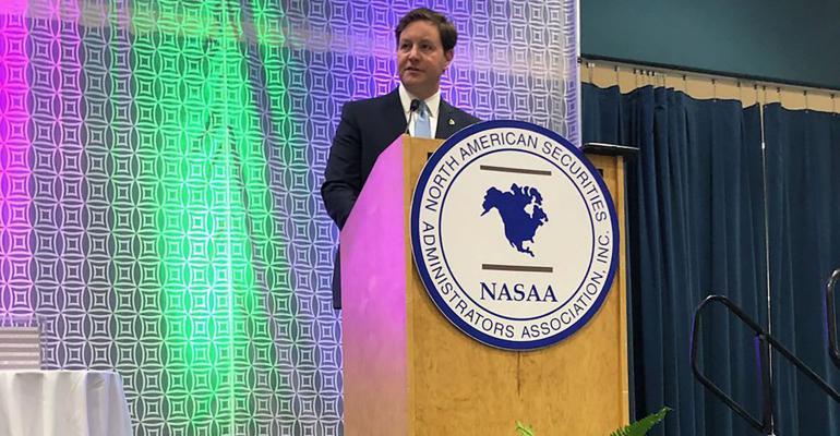NASAA President Mike Pieciak