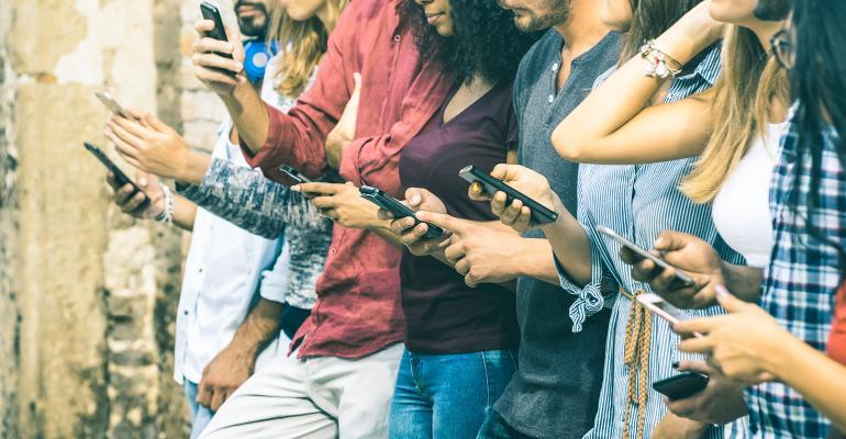millennials phones