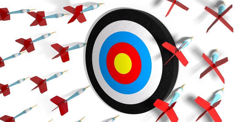 missing target