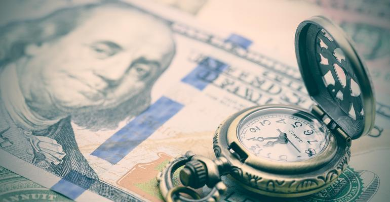 $100 bill picket watch vintage