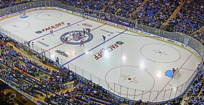 MSG hockey SPDR ad