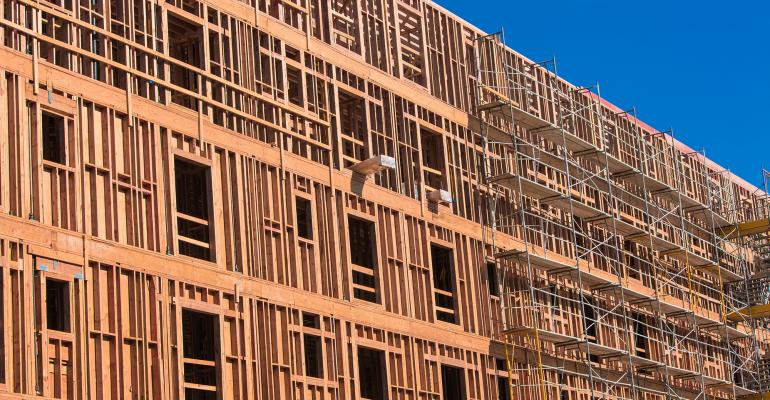 apartment complex construction