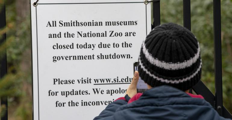museums closed government shutdown