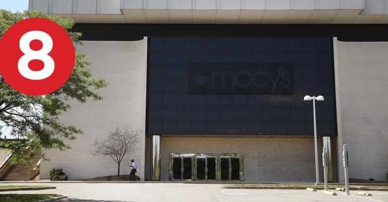 closed Macy's store