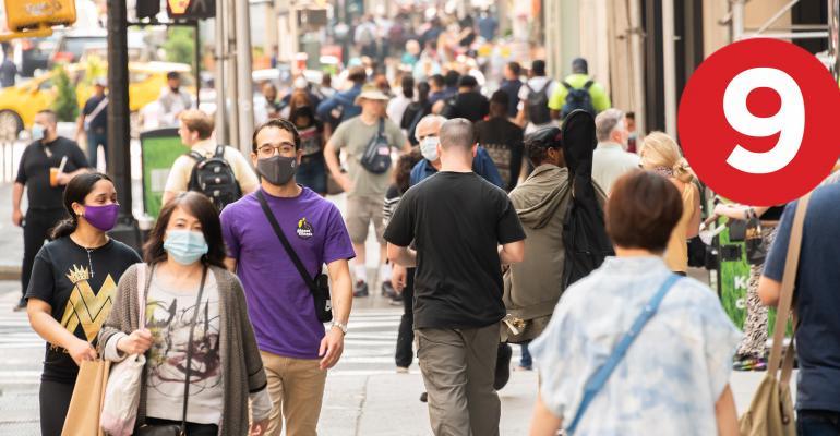 new york city pedestrians