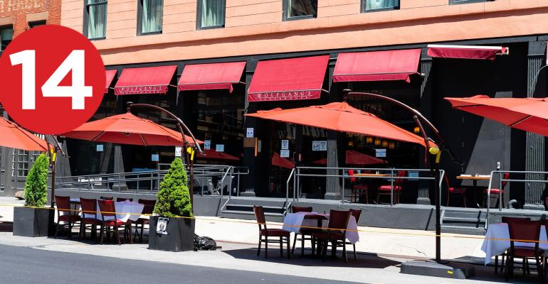 restaurants sidewalk seating