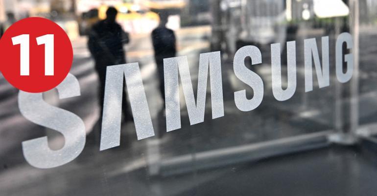 Samsung sign