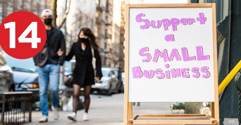 small business sign