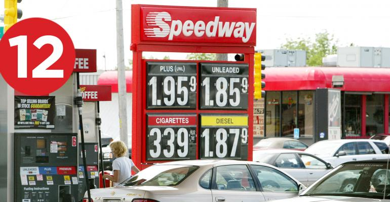 Speedway gas station