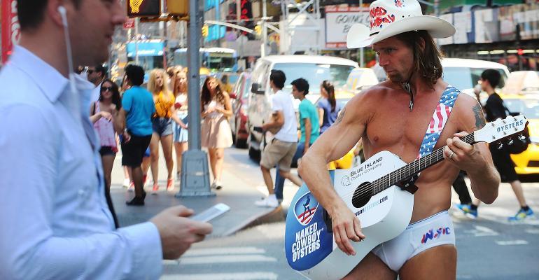 Naked Cowboy