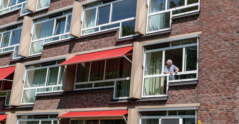 senior home exterior