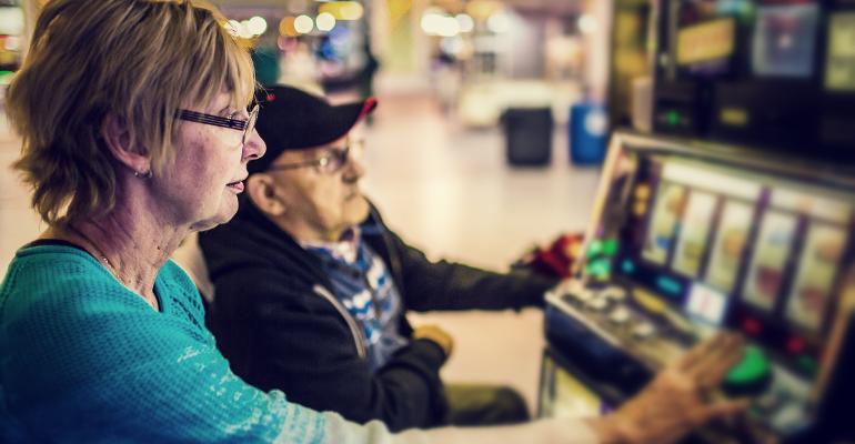 old people gambling