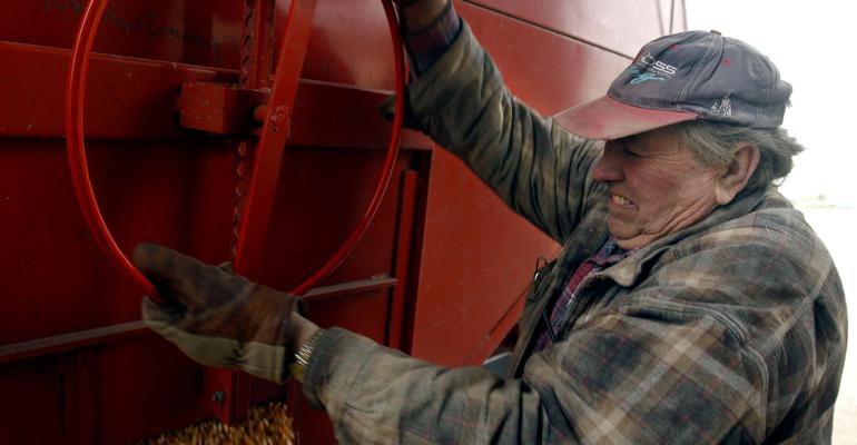 older farm worker