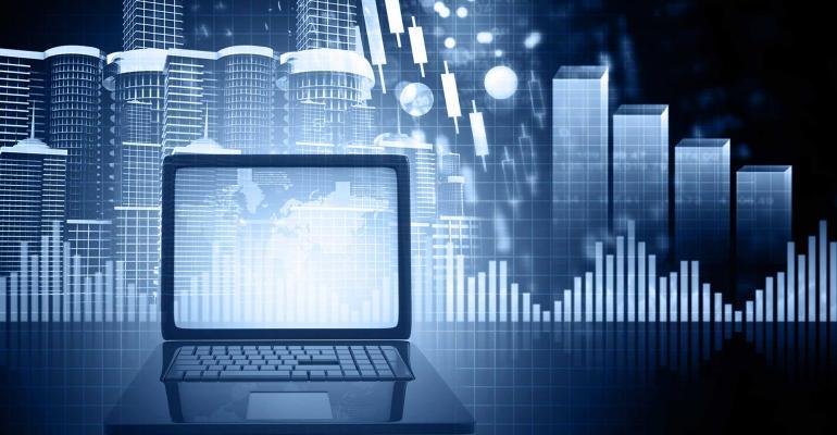 computer cityscape graph